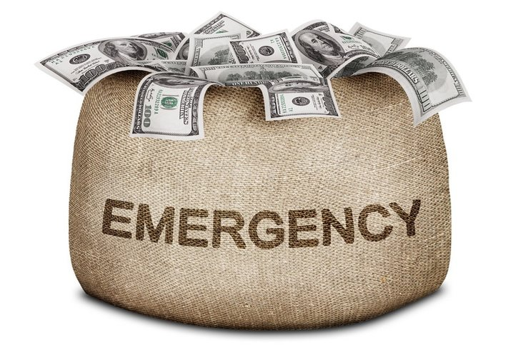 signs more than needed emergency funds